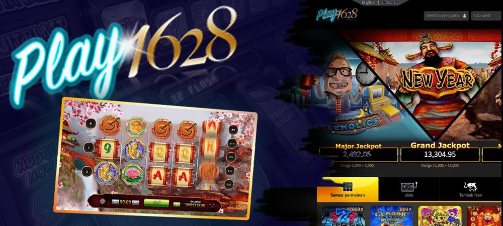 Permainan Judi Slot Online PLAY1628 Menggunakan Android